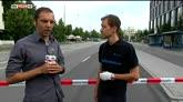23/07/2016 - Monaco, testimone: mi sono ferito saltando la staccionata