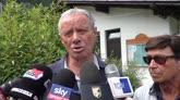 """23/07/2016 - Palermo, Zamparini: """"Sconcertato dall'addio di Foschi"""""""