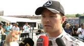 """Rosberg: """"Bandiera gialla? Ho rallentato"""""""
