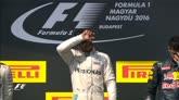 24/07/2016 - Il podio dell'Hungaroring