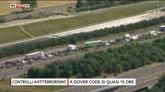 24/07/2016 - Dover, controlli antiterrorismo: code chilometriche