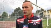 """24/07/2016 - Cordaz: """"Prima partita con il Bologna non facile"""""""