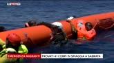 24/07/2016 - Libia, trovati 41 corpi sulla spiaggia di Sabrata