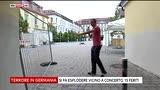 25/07/2016 - Ansbach, i danni sul luogo dell'esplosione