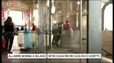 25/07/2016 - Allarme bomba a Milano, metro chiusa per pacco sospetto