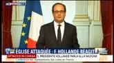 "26/07/2016 - Rouen, Hollande: ""Vi assicuro che vinceremo questa guerra"""