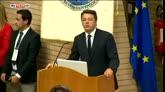 26/07/2016 - Renzi: dolore e sdegno per l'attentato in Francia