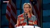 27/07/2016 - Meryl Streep: Hillary sarà grande Presidente