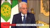 """27/07/2016 - Terrorismo, Mattarella: """"Rischiamo una nuova età dell'ansia"""""""