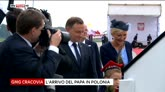 27/07/2016 - Giornata mondiale della Gioventù, il Papa arriva in Polonia