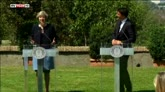 Matteo Renzi incontra la premier britannica Theresa May