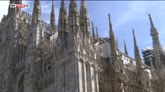 28/07/2016 - Milano, turista rimane chiuso nel Duomo