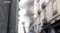 Incendio a Cosenza, tre morti