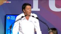 """Renzi: """"Noi del pd non dipendiamo da azienda"""""""