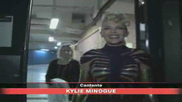 Kylie Minogue a La ville Lumierè