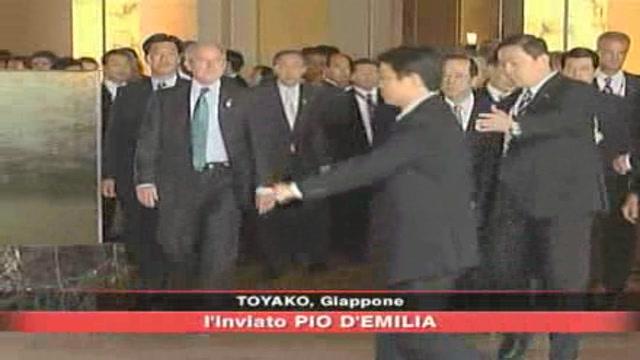 G8 Giappone, incontro tra i grandi