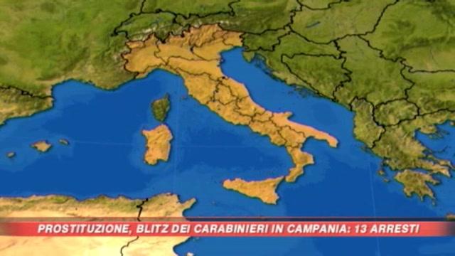 Prostituzione, blitz nel Casertano