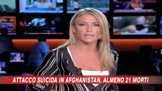 Attentato suicida in Afghanistan