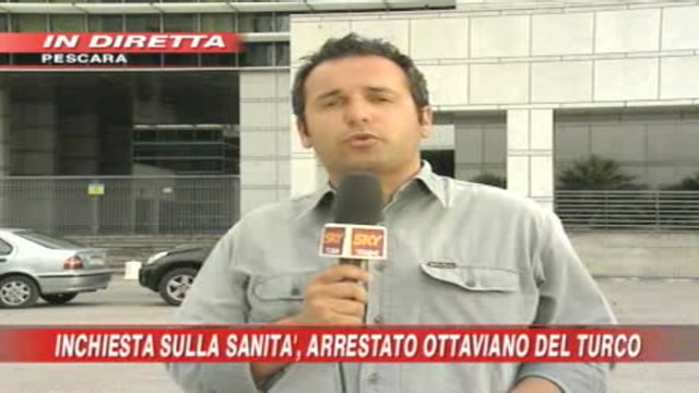 Sanità, arrestato Del Turco