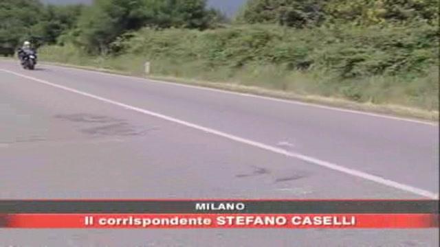 Brescia, ubriaco al volante