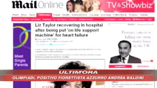 Liz Taylor non è in fin di vita