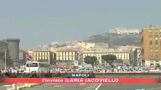 Napoli, attesa per Berlusconi