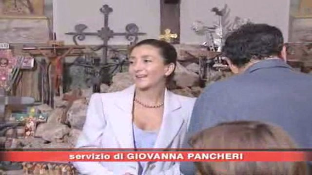 Ingrid Betancourt a Roma