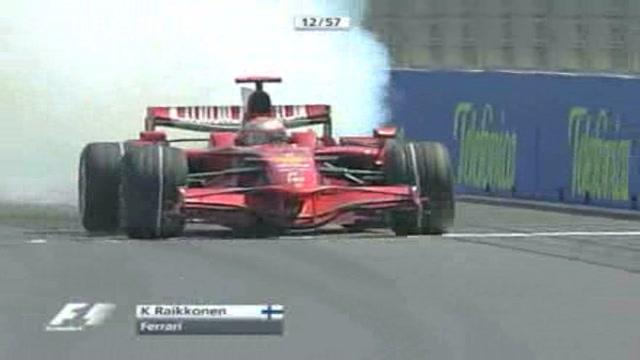 Raikkonen alla Ferrari fino al 2010