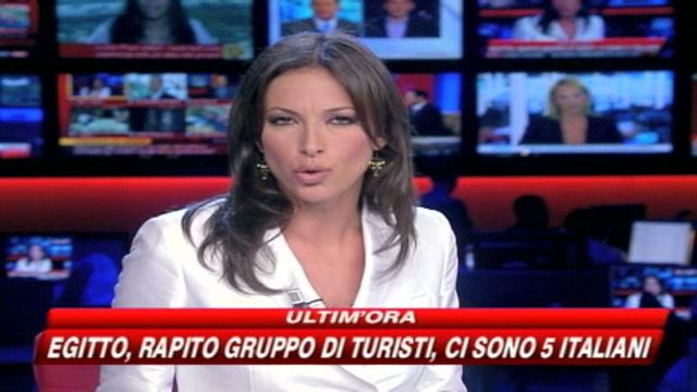 5 italiani rapiti in Egitto, chiesto un riscatto