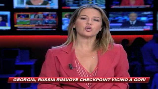 Georgia, prove di ritiro. Russi lasciano check point a Gori