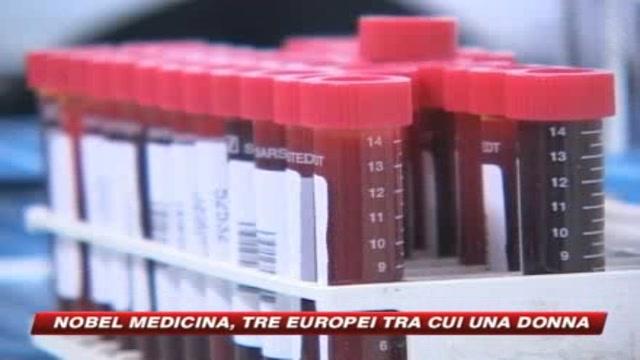 Nobel medicina, tre europei tra cui una donna