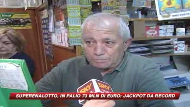 Jackpot record per il Superenalotto: 73,5 miliardi
