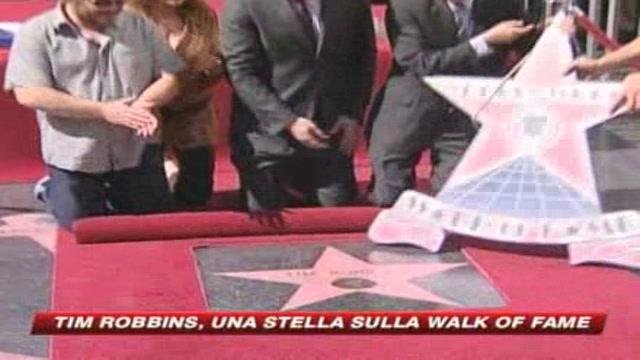 Una stella per Tim Robbins