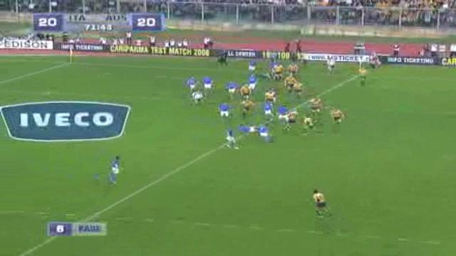 Rugby, l'Italia battuta 20-30 dall'Australia