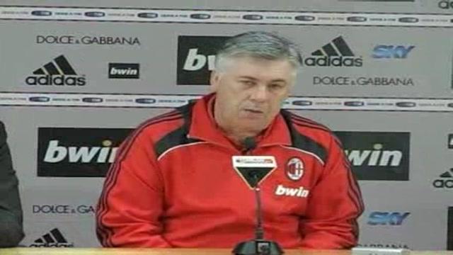 Ancelotti carica il Milan