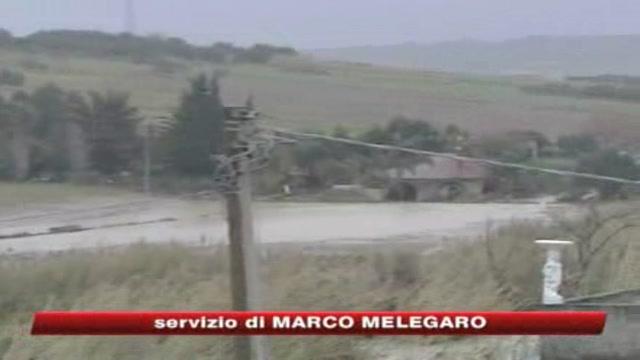 Il maltempo sferza l'Italia: due morti in Sicilia
