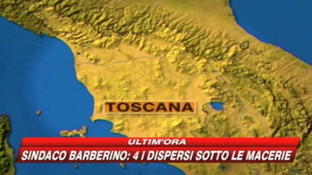 Crolla palazzina vicino Firenze: 4 sotto le macerie