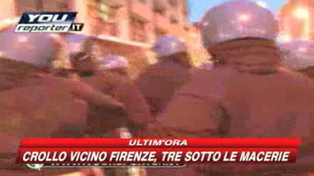 Bergamo, scontri tra forze dell'ordine e manifestanti