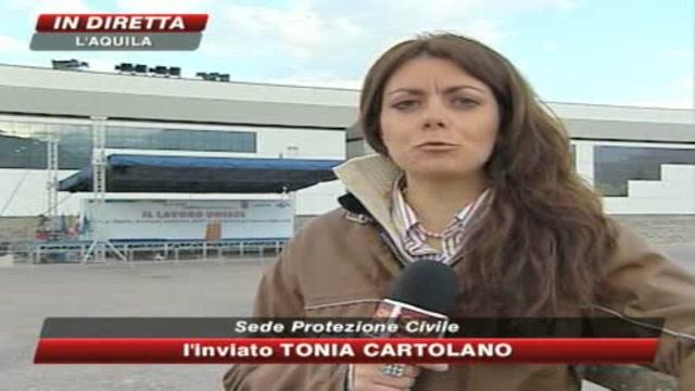 1 Maggio, sindacati all'Aquila ricordando il terremoto