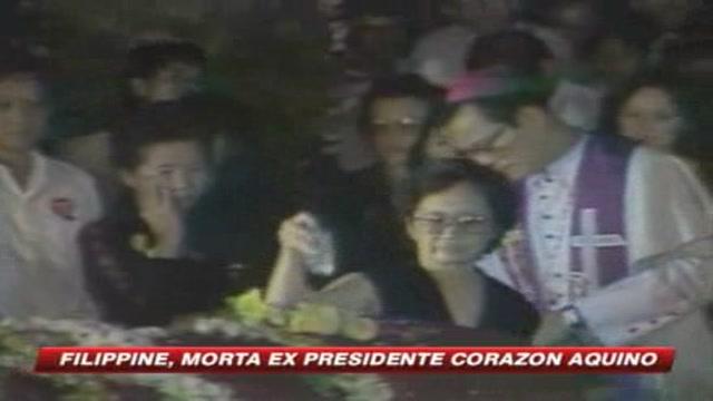 Fillippine, è morta l'ex presidente Corazon Aquino