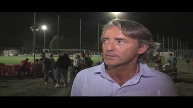 Mancini: l'Inter è ancora la squadra da battere