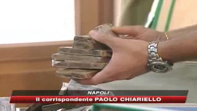 Napoli, nuovo maxi sequestro di droga