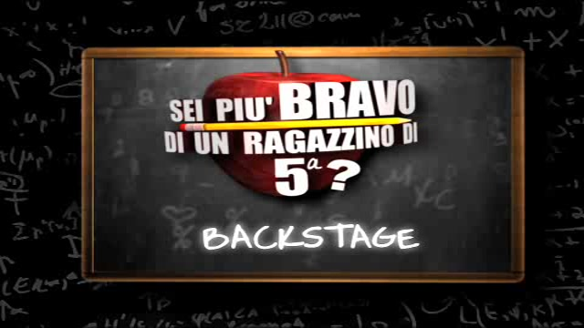 Backstage sei più bravo_1