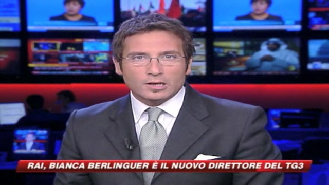 Rai, Bianca Berlinguer nuovo direttore del Tg3