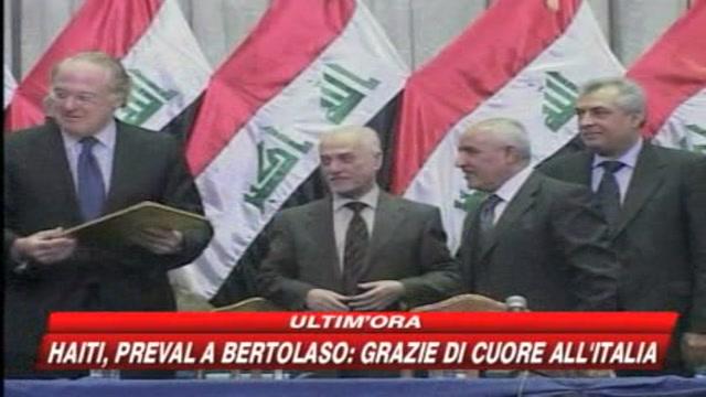 Eni, accordo per lo sfruttamento del greggio iracheno