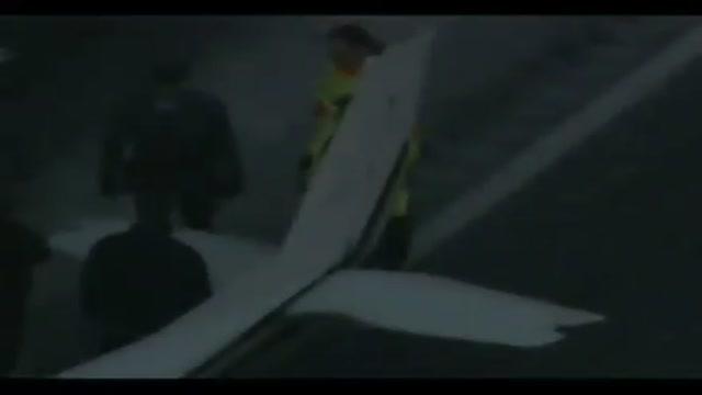 Maltempo USA: piper atterra in autostrada nel New Jersey