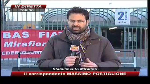 Fiat Auto, oggi 4 ore di sciopero in tutti gli stabilimenti, collegamento in diretta da Torino