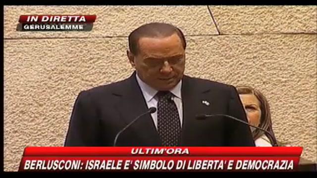 Berlusconi su Iran e nucleare: servono sanzioni efficaci
