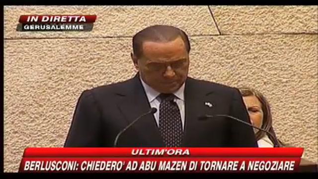 Intervento di Silvio Berlusconi alla Knesset - parte 6