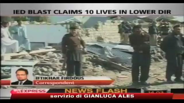 Pakistan, almeno 10 morti in attentato nella valle dello Swat